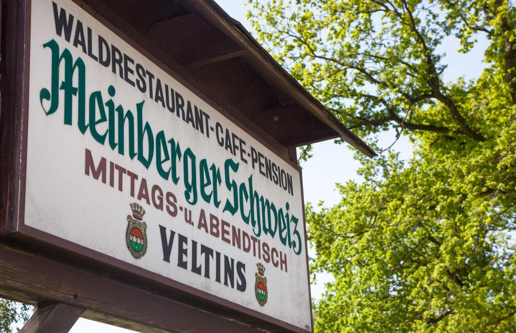 Schild Meinberger Schweiz